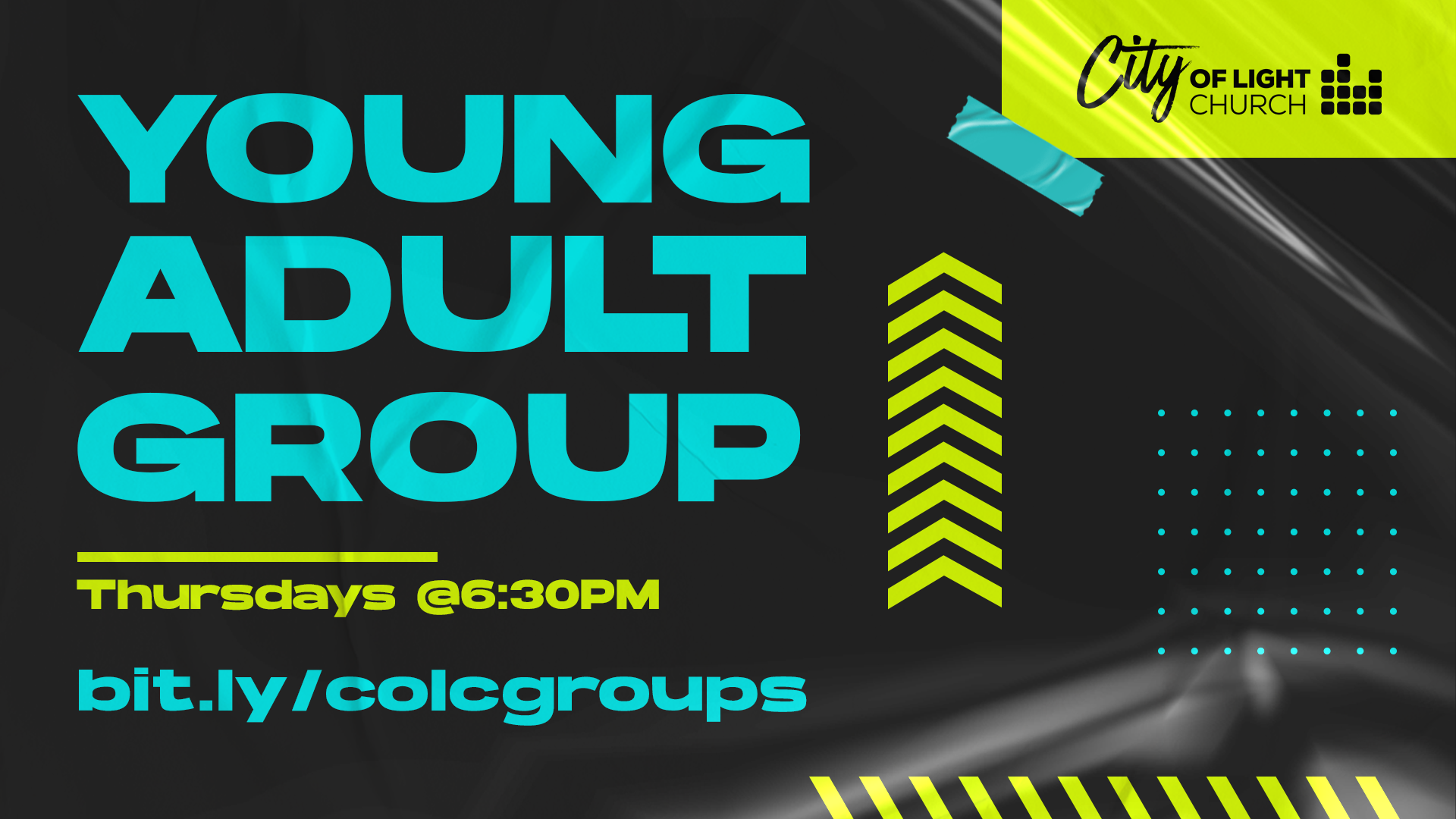 Young Adult Group | City of lights Church