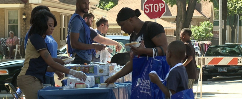 North Side Neighborhood Holds Block Party
